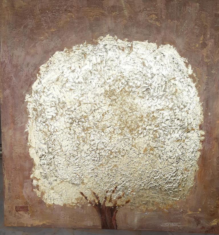 Arbre de vie - Joseph Fauci - Toile 100x100cm